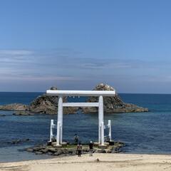 福岡/櫻井神社/糸島二見ヶ浦/糸島ドライブ/お出かけ/暮らし 昨日は久々のドライブ。 晴天で綺麗な海に…