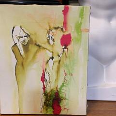 アートのある暮らし/アート/暮らし 私は不用品をメルカリで売って、売り上げで…(2枚目)