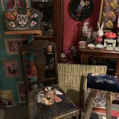 パーテーションdiy/アメリ部屋/LIMIAインテリア部/雑貨/ハンドメイド/DIY/... 映画「アメリ」に憧れてお部屋作り中。 好…