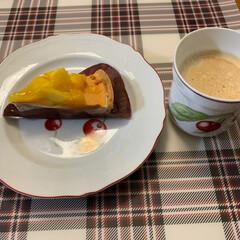 スタバ/コーヒータイム/食後のデザート/至福のひととき/おやつタイム 食後のデザートはスタバのマンゴー&ヨーグ…