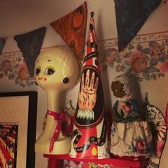 ナタリーレテ/ツィギー/ガーランド/ウォールデコレーション/寝室/雑貨/... 寝室のウォールデコレーションです。 ガー…