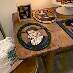 ma macaron 「博物部屋」/雑貨/おでかけ/リミアの冬暮らし 大好きな刺繍アーティストさんのポップアッ…(4枚目)