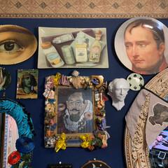 ミュージアムグッズ/ナポレオン/ウォールデコレーション/アート/アートのある暮らし/マッケンジーチャイルズ/... プレートハンガーが届くのが待ちきれず、と…