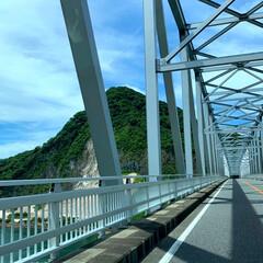 家族旅行/LIMIAおでかけ部/おでかけ/旅行/ブルー 天草五橋。