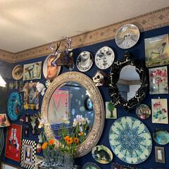 花瓶/アート/アートのある暮らし/Re壁/セルフペイントの壁/LIMIAインテリア部/... おはようございます。😊 朝一番のニュース…