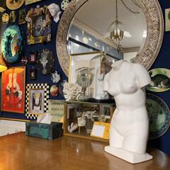 ミロのヴィーナス/石膏像/セルフペイントの壁/LIMIAインテリア部/雑貨/DIY/... ミロのヴィーナスの石膏像をお迎えしました…