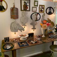 ma macaron 「博物部屋」/雑貨/おでかけ/リミアの冬暮らし 大好きな刺繍アーティストさんのポップアッ…(3枚目)