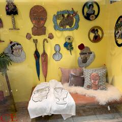 ma macaron 「博物部屋」/雑貨/おでかけ/リミアの冬暮らし 大好きな刺繍アーティストさんのポップアッ…(5枚目)