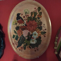 ナタリーレテ/アメリ/壁紙屋本舗/セルフペイントの壁/アートのある暮らし/アート/... こちらはナタリーレテのトレイです。私はプ…(2枚目)