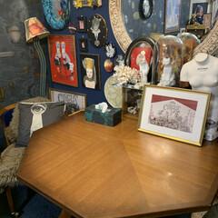コスガ/雑貨/住まい/暮らし/我が家のテーブル わが家のダイニングテーブルはコスガの八角…