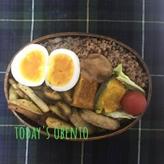 全体的に茶色いぞ/お昼ご飯/節約生活/雑穀米/曲げわっぱ弁当/LIMIAごはんクラブ/... おはようございます。久しぶりの早番で思考…