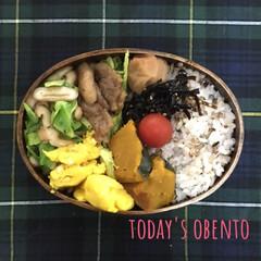 雑穀米/体質改善?/節約生活/お弁当/お昼ご飯/甘い卵焼き/... おはようございます。卵焼きが楽しみ💕 雑…