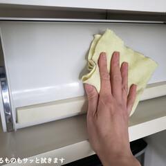 掃除シート キッチン用おそうじクロス 3枚入り そうじの神様(掃除用ブラシ)を使ったクチコミ「こんばんは😃🌃 . . 今日のこそうじは…」(3枚目)