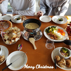 誕生日パーティ/クリスマスメニュー/クリスマスケーキ/クリスマスパーティー/そうじの神様アンバサダー/そうじの神様/... こんばんは😃🌃 . . 🎅🎄Merry …