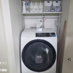カビトルネード ドラム式用(洗濯槽クリーナー)を使ったクチコミ「こんばんは😃🌃  今日のこそうじは、洗濯…」(1枚目)