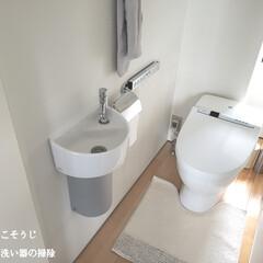 ポイントブラシ/隙間ブラシ/輝き洗剤キーラ/手洗い器/トイレ/トイレ手洗い器の掃除/... こんばんは😃🌃 . . 今日のこそうじは…
