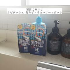 浴室/掃除/supported/リベルタ/防カビリカバリーマジック/カビダッシュ/... こんばんは🌃 . . 今日のこそうじは、…(1枚目)
