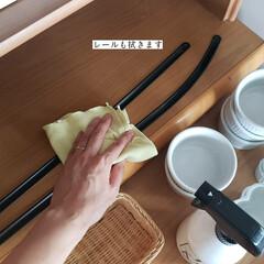 掃除/キッチン用おそうじクロス/そうじの神様/パストリーゼ/拭き掃除/食器棚の拭き掃除/... こんばんは🌃 . . 今日のこそうじは、…(5枚目)