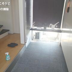 ウタマロクリーナー/玄関の掃除/毎日こそうじ/こそうじ/掃除/快適掃除/... こんばんは😃🌃 . . 今日のこそうじは…