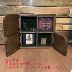 フォロー大歓迎/DIY/雑貨/インテリア/住まい/収納 【アンティーク風 思い出のメモリーボック…(2枚目)