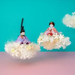 ふらここ/雑貨/インテリア雑貨/季節雑貨/雛人形 ひな人形は衣装選びがカギ!〔ふらここ〕の…