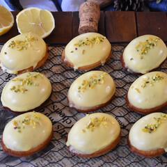 手作りスイーツ/手作りお菓子/手作りおやつ/手作りケーキ レモンケーキ。(3枚目)