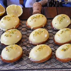 手作りスイーツ/手作りお菓子/手作りおやつ/手作りケーキ レモンケーキ。