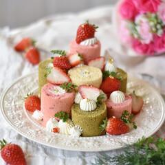 手作りスイーツ/手作りケーキ/手作りお菓子/手作りおやつ/ピンク 今日はたのしいひなまつりぃーーーーー っ…(2枚目)
