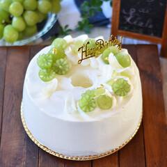 手作りスイーツ/手作りお菓子/手作りケーキ 友達のお父さんへバースデーケーキ🎂 プレ…