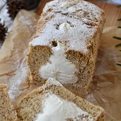 手作りおやつ/手作りお菓子/手作りケーキ/手作りスイーツ 今日のおやつ。 アールグレイシフォン。(2枚目)