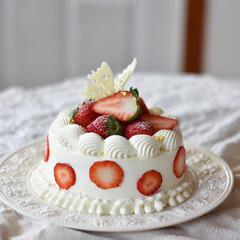 手作りおやつ/手作りケーキ/手作りお菓子/手作りスイーツ 🍓再び!!! やっぱかぁわいいーーーー🥰(5枚目)