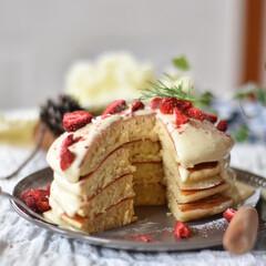 手作りスイーツ/手作りお菓子/手作りケーキ 今朝の朝ごはん。 こないだのドーナツで余…(5枚目)