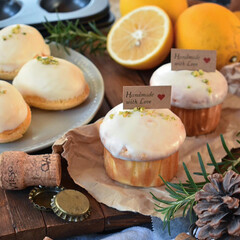 手作りケーキ/手作りお菓子/手作りおやつ/手作りスイーツ 贈り物用レモンケーキ🍋(2枚目)