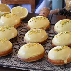 手作りスイーツ/手作りお菓子/手作りおやつ/手作りケーキ レモンケーキ。(2枚目)