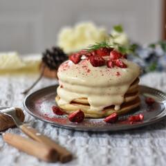 手作りスイーツ/手作りお菓子/手作りケーキ 今朝の朝ごはん。 こないだのドーナツで余…(4枚目)