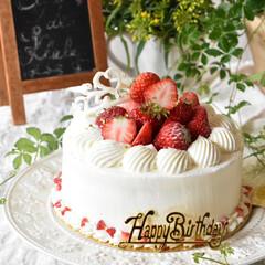 手作りスイーツ/手作りお菓子/手作りおやつ/手作りケーキ 今日は娘3の誕生日。