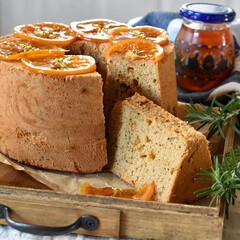 手作りケーキ/手作りおやつ/手作りスイーツ/手作りお菓子 アールグレイとオレンジのシフォンケーキ …(2枚目)
