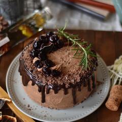 手作りスイーツ/手作りお菓子/手作りおやつ/手作りケーキ 余り物処理ケーキ꒰๑˃̴̥̥́ ㅂ˂̴̑…(2枚目)