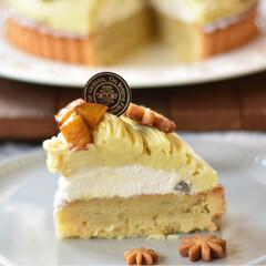 手作りおやつ/手作りケーキ/手作りお菓子/手作りスイーツ いモンブランタルト。(4枚目)