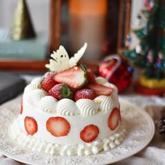 手作りおやつ/手作りケーキ/手作りお菓子/手作りスイーツ 🍓再び!!! やっぱかぁわいいーーーー🥰(3枚目)
