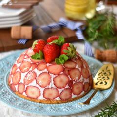 手作りお菓子/お菓子作り/おうちカフェ/手作りケーキ 今日のおやつ。 昨日のケーキで余った泡立…