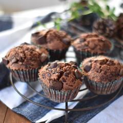 手作りおやつ/手作りケーキ/手作りお菓子/手作りスイーツ 70%カカオのチョコレートをゴロンゴロン…(2枚目)