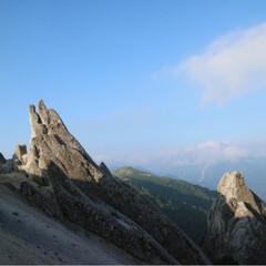 リフレッシュ/雲海/朝陽/夕陽/登山/燕山荘/... 憧れが詰まった場所。 燕岳、燕山荘*° …(4枚目)