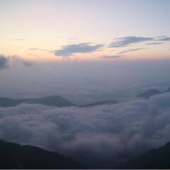 リフレッシュ/雲海/朝陽/夕陽/登山/燕山荘/... 憧れが詰まった場所。 燕岳、燕山荘*° …(7枚目)