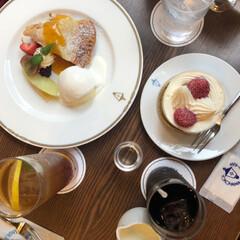 馬車道/横浜/喫茶店/カフェ/ショートケーキ/馬車道十番館/... 素敵なカフェにて☂︎*̣̩⋆̩* 雨の日…