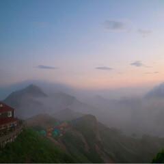 リフレッシュ/雲海/朝陽/夕陽/登山/燕山荘/... 憧れが詰まった場所。 燕岳、燕山荘*° …(8枚目)
