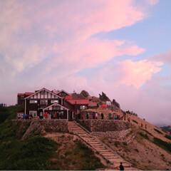 リフレッシュ/雲海/朝陽/夕陽/登山/燕山荘/... 憧れが詰まった場所。 燕岳、燕山荘*° …(5枚目)