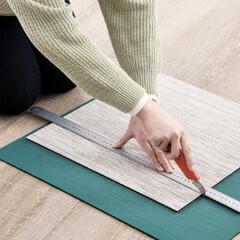 遮音/床材/DIY/クッション/柔らかい/防炎加工/... ペットに優しい「ReFaceタイル」 滑…(8枚目)