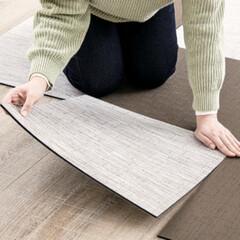 遮音/床材/DIY/クッション/柔らかい/防炎加工/... ペットに優しい「ReFaceタイル」 滑…(7枚目)
