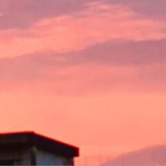 夕日 今の空 暑かった今日 夕日を 見ながら …(5枚目)